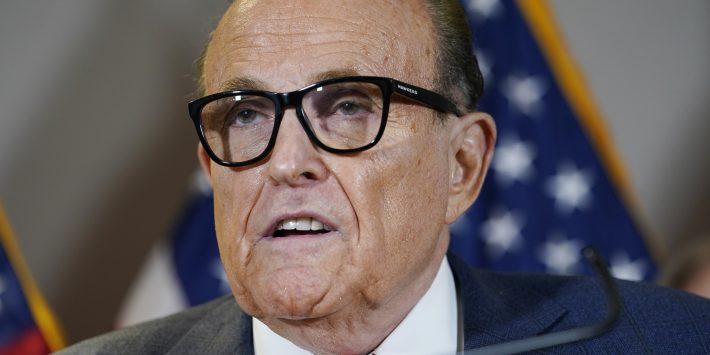 Headshot of Rudy Giuliani