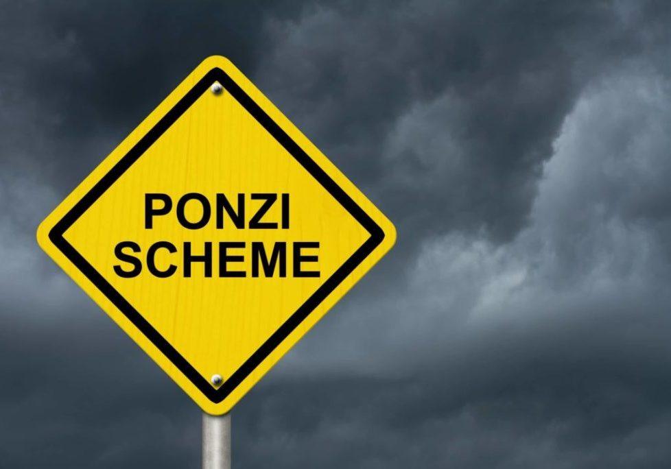 Ponzi Scheme Sign